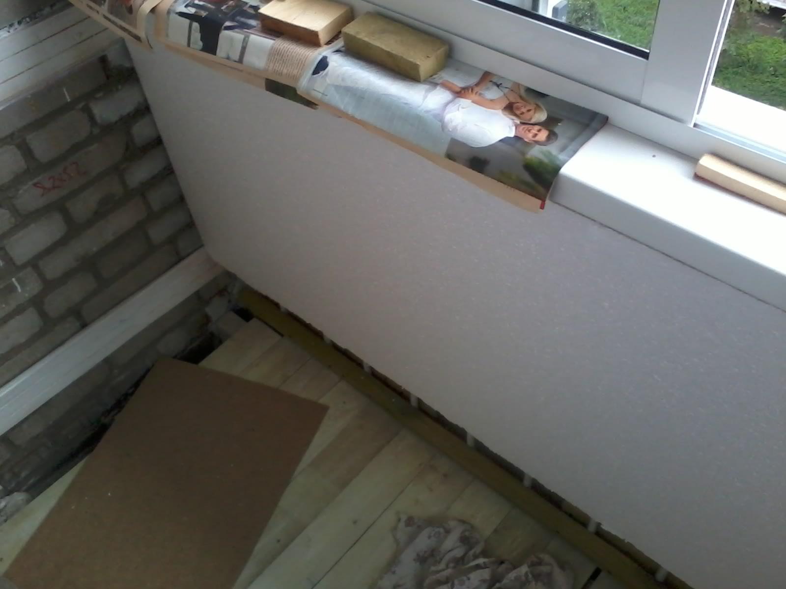 Обшивка балконов и утепление своими руками киев