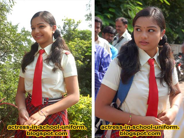 bollywood heroine in school uniform