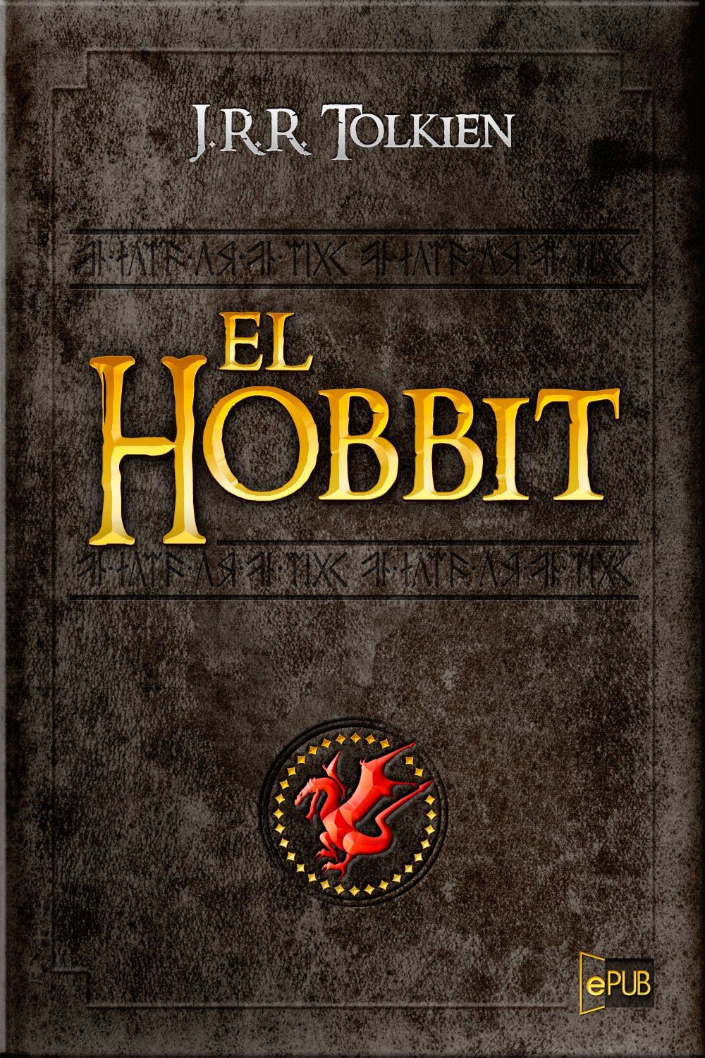 J R R Tolkien The Hobbit (LOTR Middle Earth) 50th Anniversery
