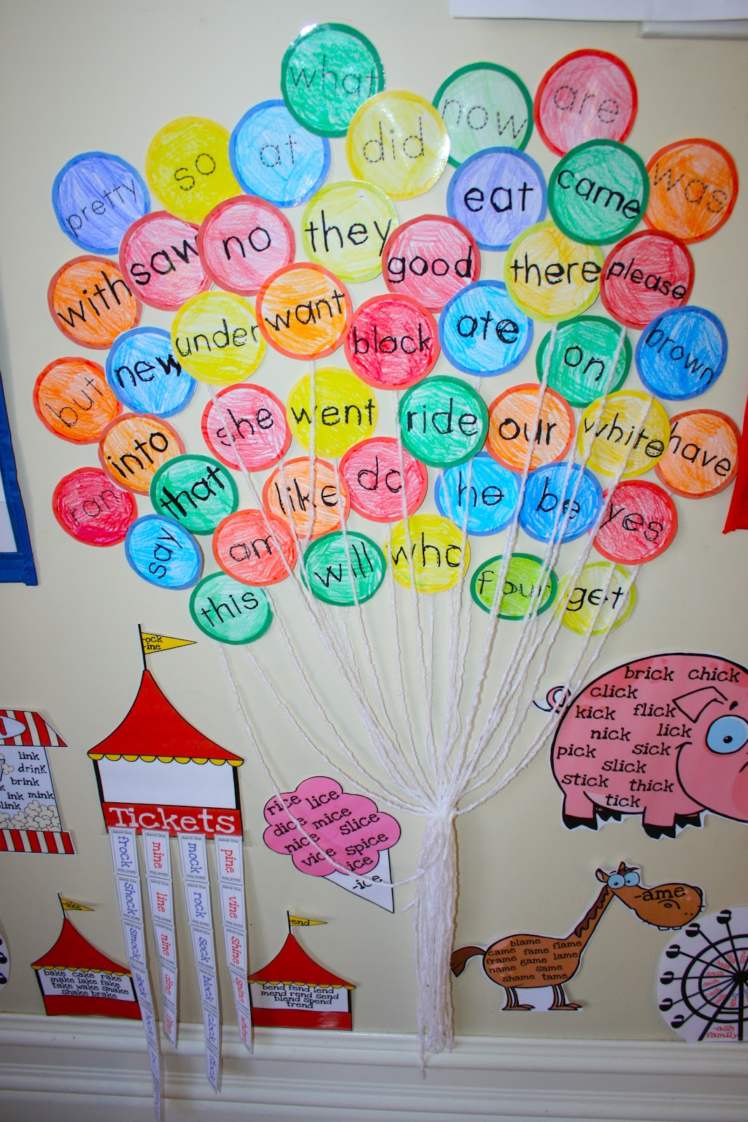 Classroom Decoration Word Work ~ Ready read level unit