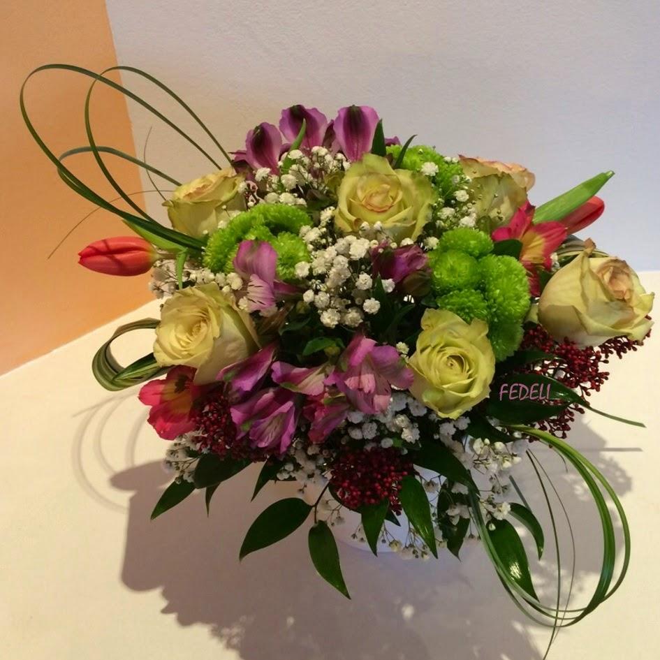 Fiori fedeli laboratorio artigianale toni pastello - Crisantemi in vaso ...