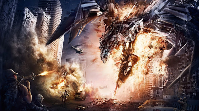 Transformers 4 Artwork HD Wallpaper