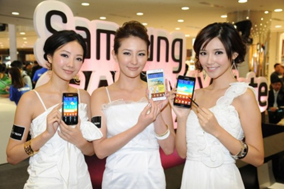 Six variants of Samsung Galaxy