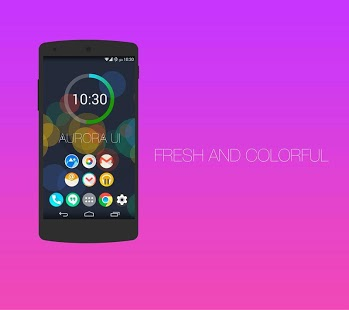 Aurora UI – Icon Pack APK V.1.0.1 Full Android Download