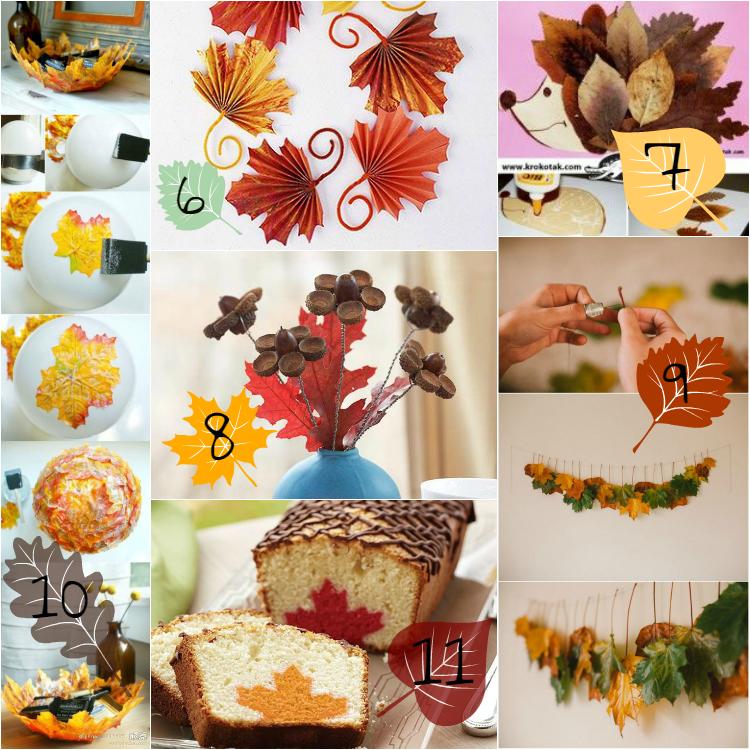 Scarabocchi di pensieri scarabocchi di creativit - Decorazioni d autunno ...