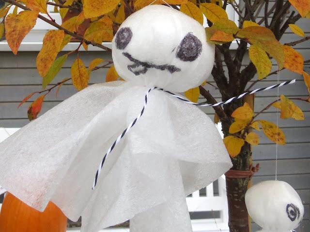 Gespenster zu Halloween