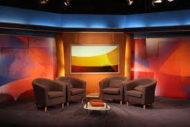 talk show set