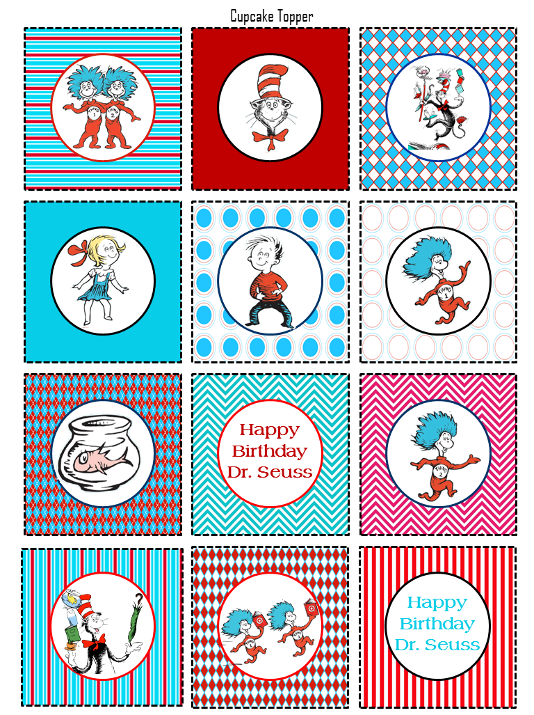 Related: Dr Seuss Printables , Dr Seuss Fish Printables , Dr Seuss ...