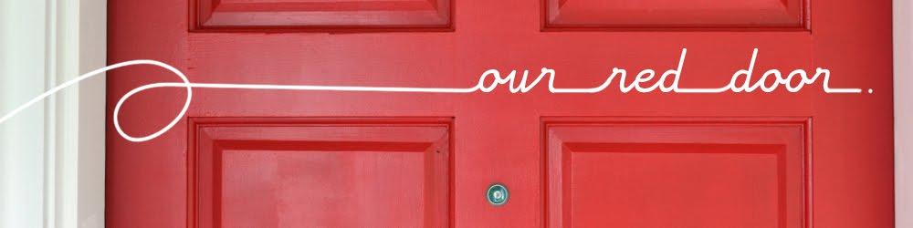 our red door