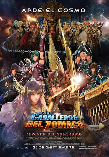 Saint Seiya: Legend Of Sanctuary (BRRip 1080p Español Latino) (2014)