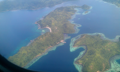 Coron Island from the Top