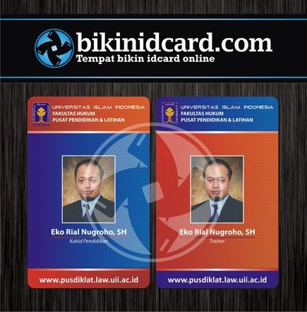 cetak kartu pegawai universitas murah