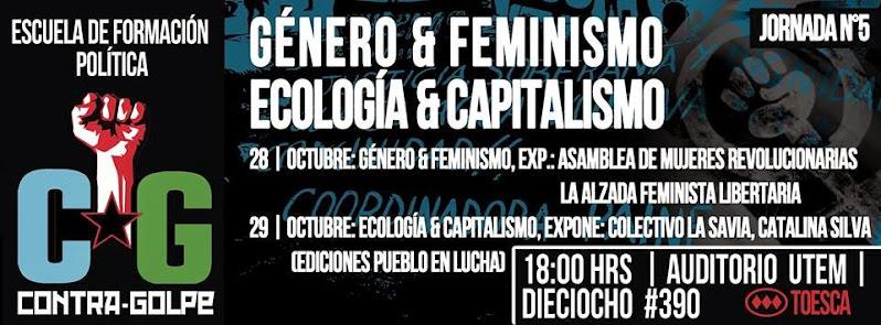 SANTIAGO CENTRO: ESCUELA DE FORMACIÓN POLÍTICA GENERO Y FEMINISMO, ECOLOGÍA Y CAPITALISMO