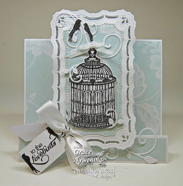 ODBD Stamps, To The Lovebirds, designed by Grace Nywening
