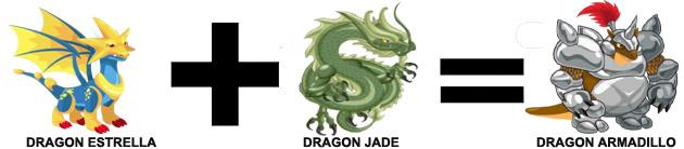 como sacar el dragon armadillo en dragon city combinaion 2
