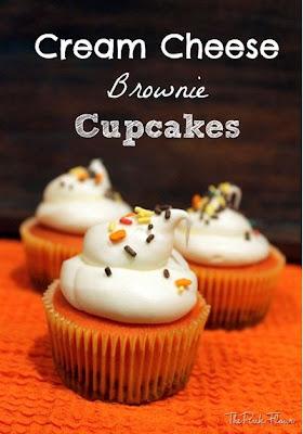 Cream Cheese Brownie Cupcakes