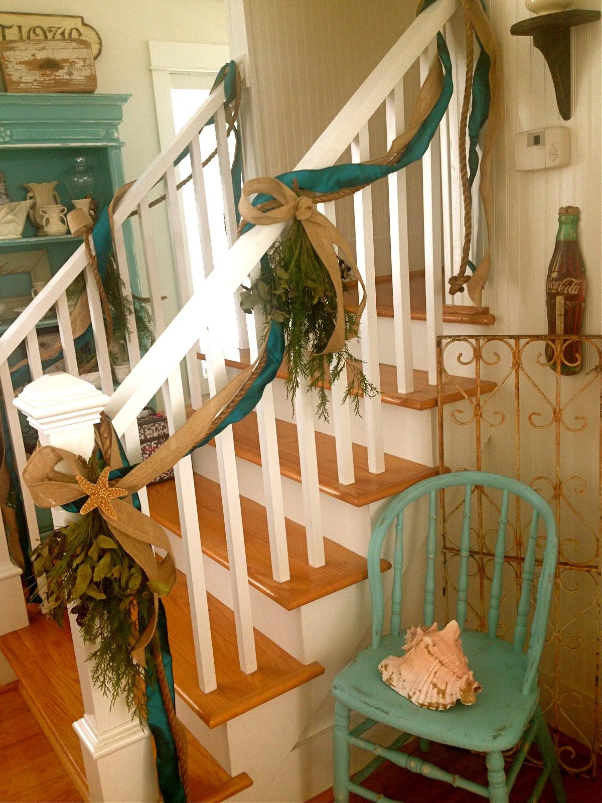 the beach more coastal themed christmas decor. Black Bedroom Furniture Sets. Home Design Ideas