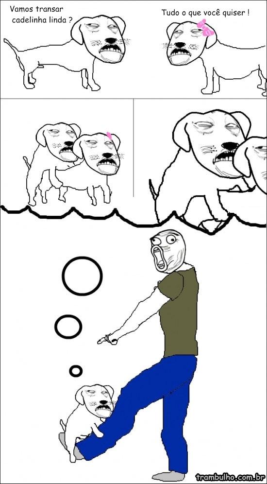 Cachorro Safado