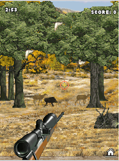 , deer and bears. With diverse arsenal: a gun, a rifle, a crossbow