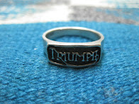 around 70's 「TRIUMPH」 SILVER RING