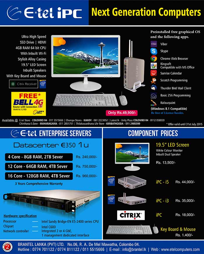 Next Generation Computers with Preinstalled Software.
