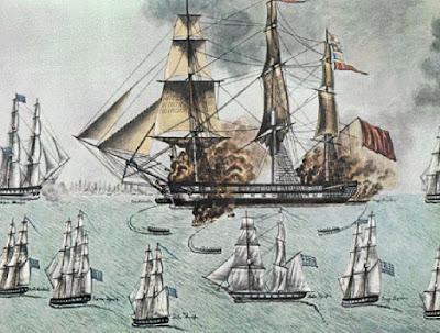 Ναυμαχία του Γέροντα: Ο Μιαούλης τσακίζει τον τουρκικό στόλο και δοξάζει το ελληνικό ναυτικό!