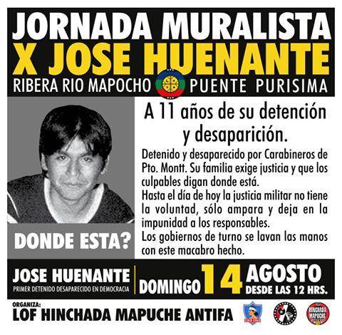 SANTIAGO: JORNADA MURALISTA X JOSE HUENANTE