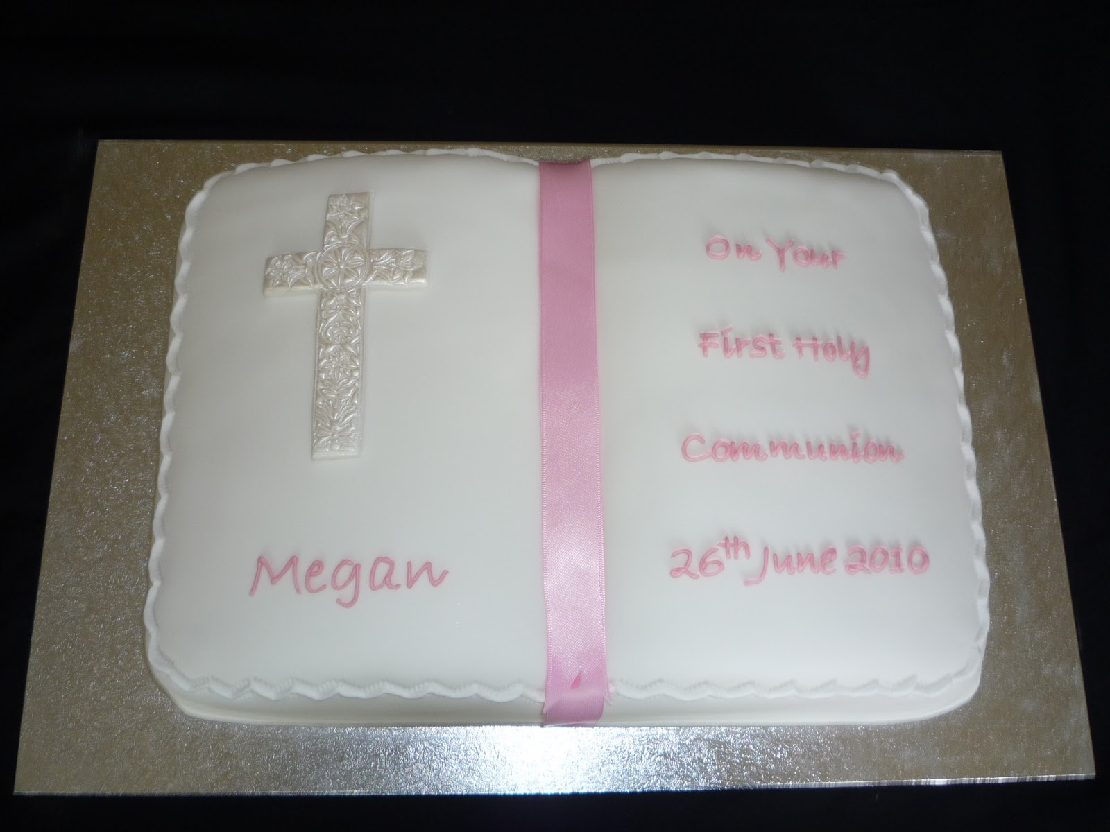 Allan wedding engagement christening and first holy communion cakes