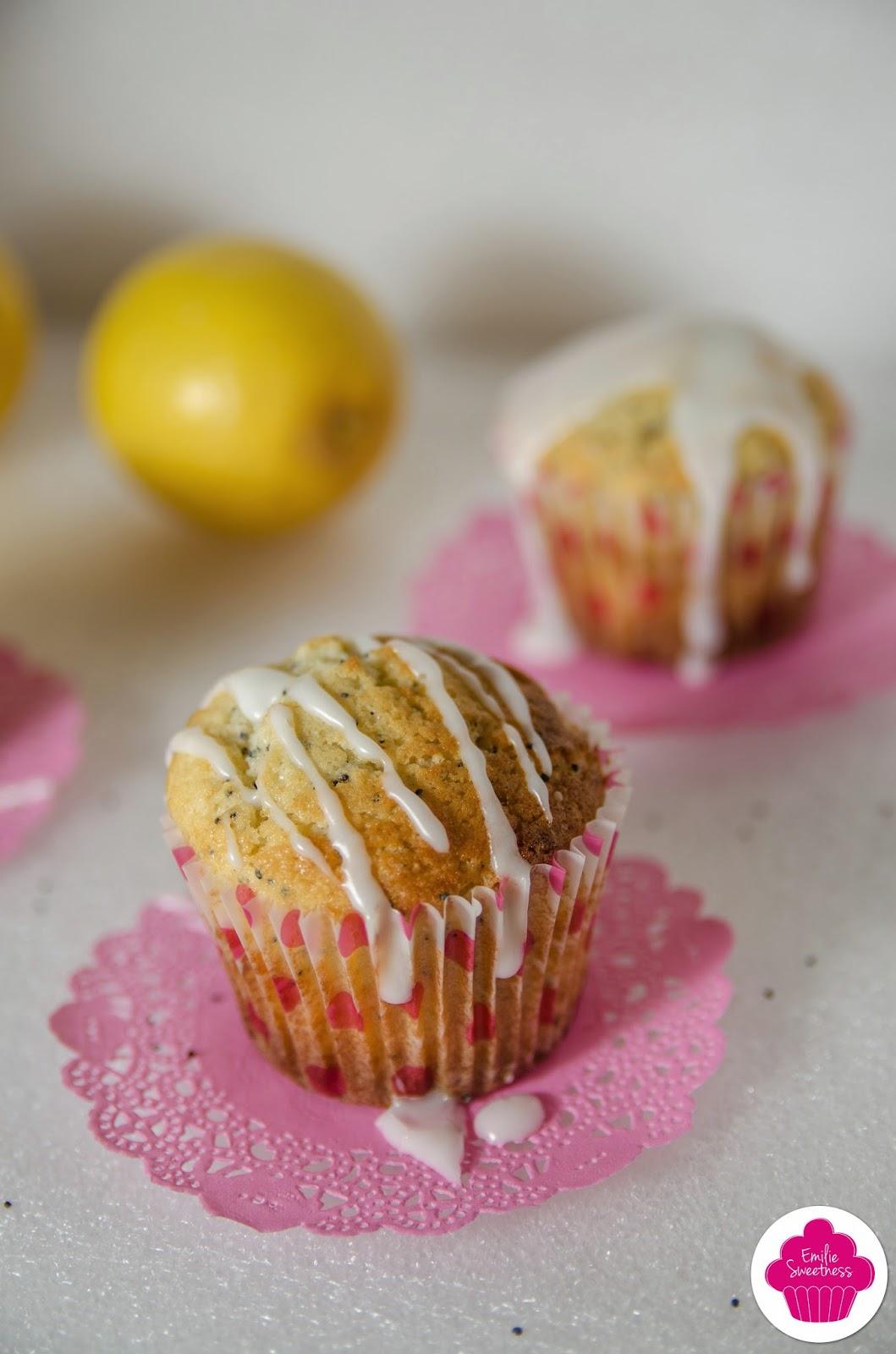 Muffins citron pavot - Lemon Poppy Seed Muffins