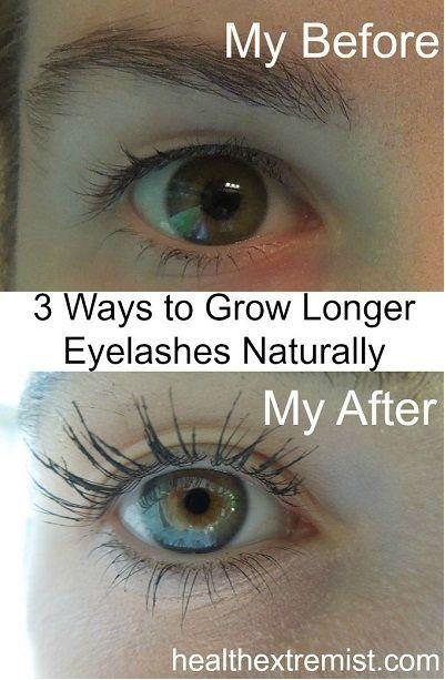3 Ways To Naturally Grow Your Eyelashes