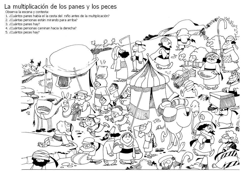 BUENAS NOTICIAS PARA LOS NIÑOS: LA MULTIPLICACIÓN DE LOS PANES Y DE ...