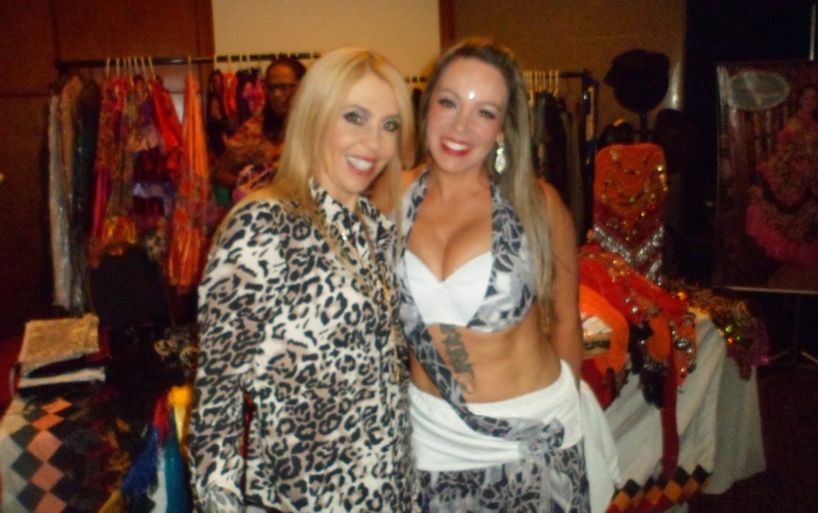 Bailarina e idealizadora do evento Shalimar