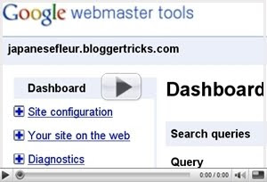 Video Tutorial: Submit Sitemap Blog ke Google melalui Google Webmaster Tools