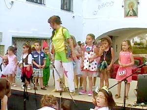 Isabel Camiña en el Carnaval de Verano 2014 en Aracena