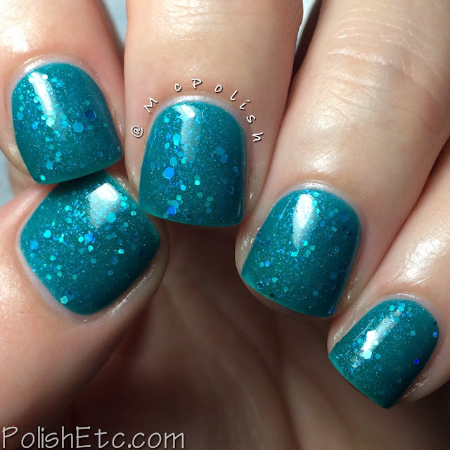 Lavish Polish - Christmas Collection 2015 - McPolish - Icy Christmas