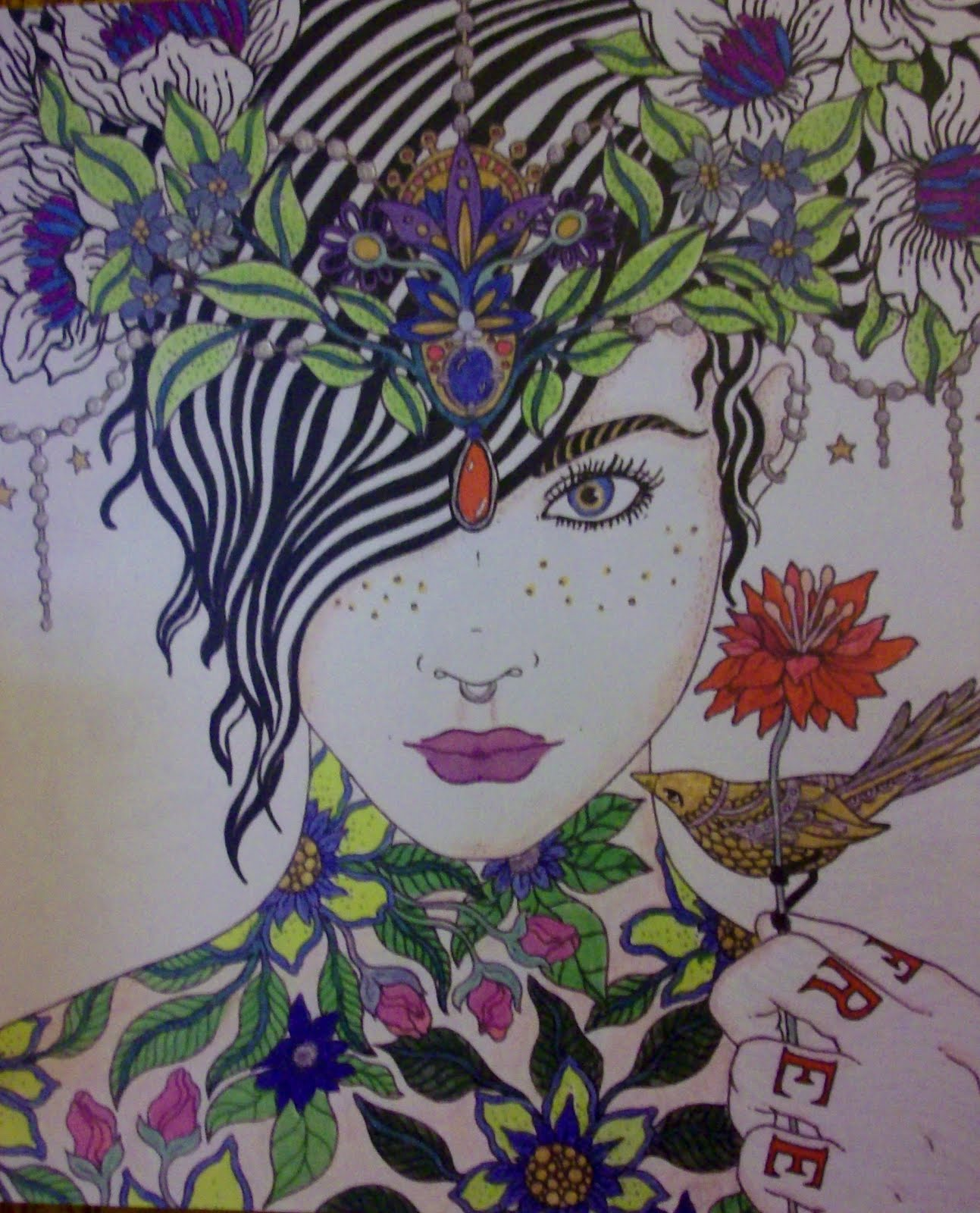 My Coloring Art, On A Canvas