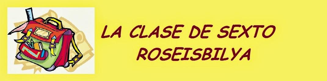 LA CLASE DE ROSEISBILYA