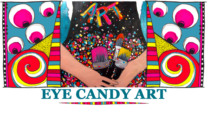 Eye Candy Art * Rachelle Hartley * Mixed Media Art and Illustrations