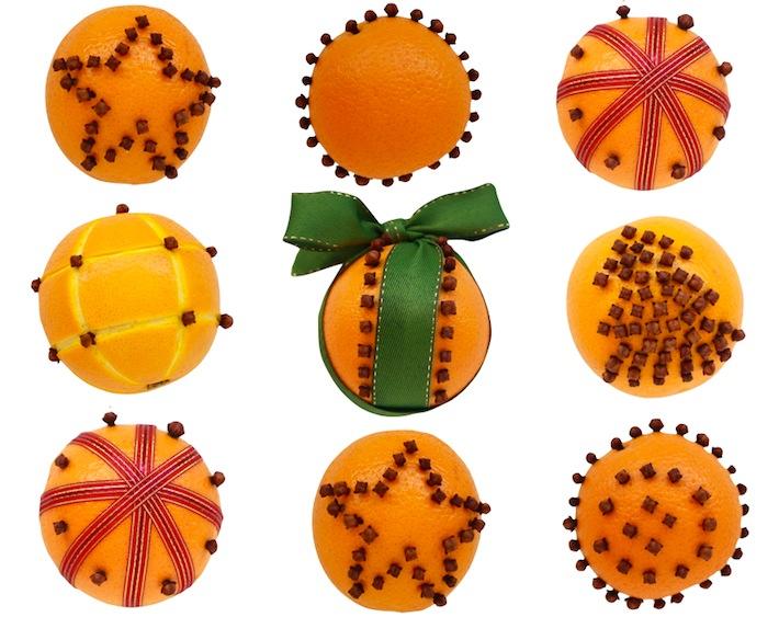 orange pomander designs