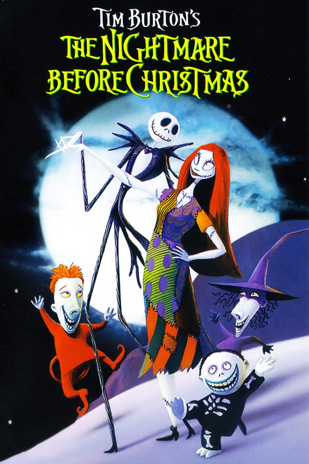 Nightmare Before Christmas Poster | X-Mas