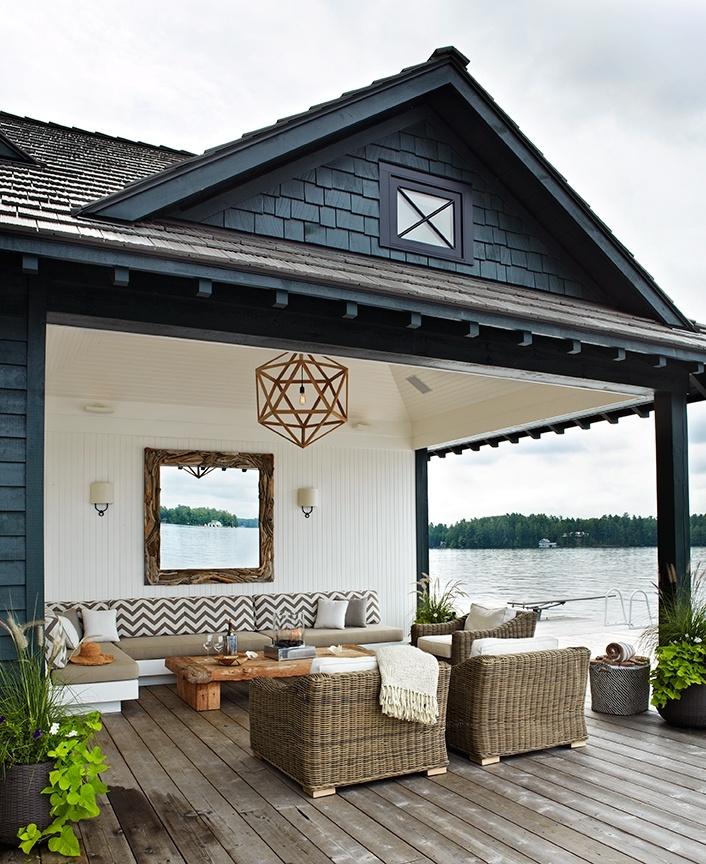 Nore interiør: inspirasjon til overbygd terrasse/uteplass