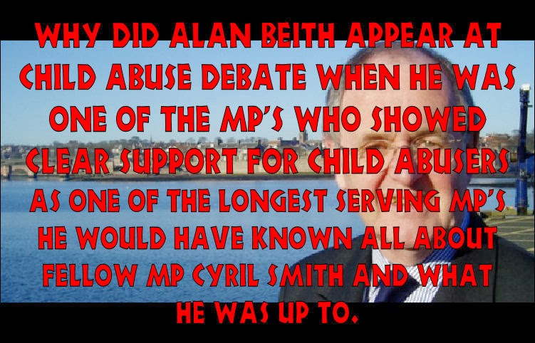 Alan Beith offered group support to abusers.