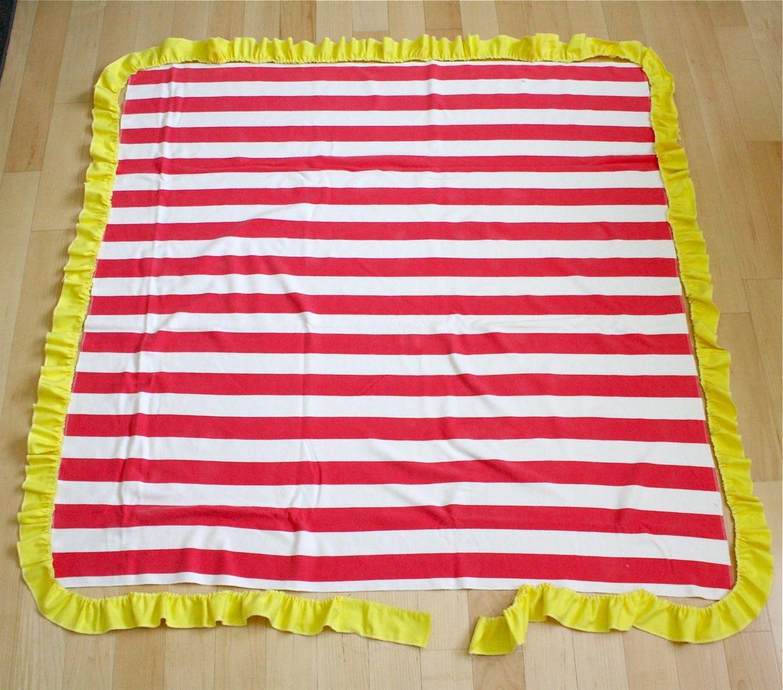 Ruffle Blanket – MADE EVERYDAY