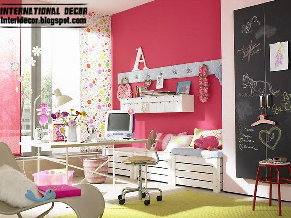 15 Pink Girl\'s bedroom 2014 : Inspire pink room designs ideas for girls