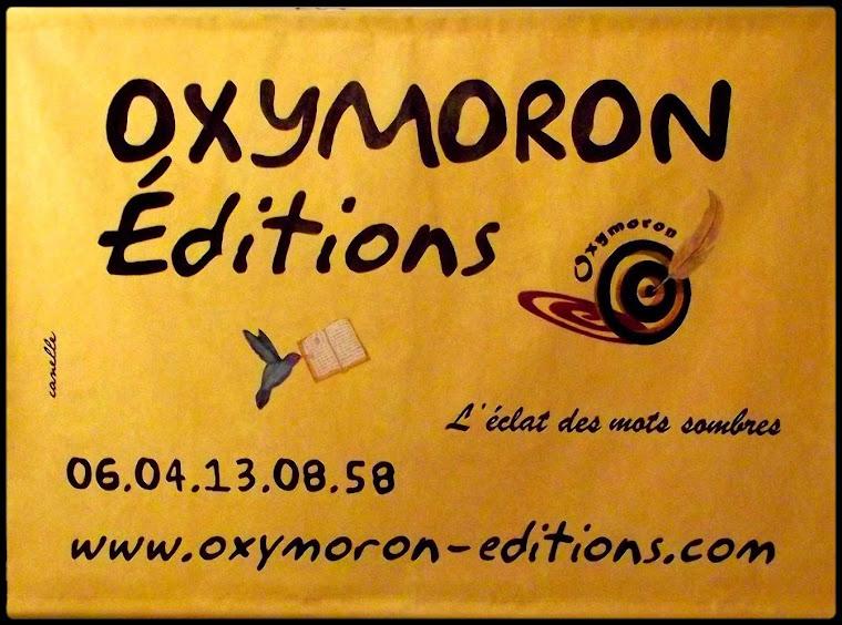 049 - 19042011 - OXYMORON Editions, bannière, Fête de la Sant Jordi, Le Livre et la Rose, à Perpign