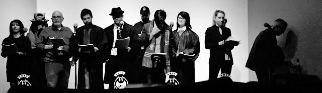 The Cast of the Harry Strange Radio Drama Live Show