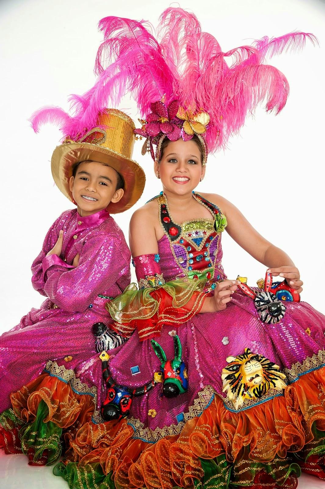 Reyes Infantiles del Carnaval de Barranquilla 2015