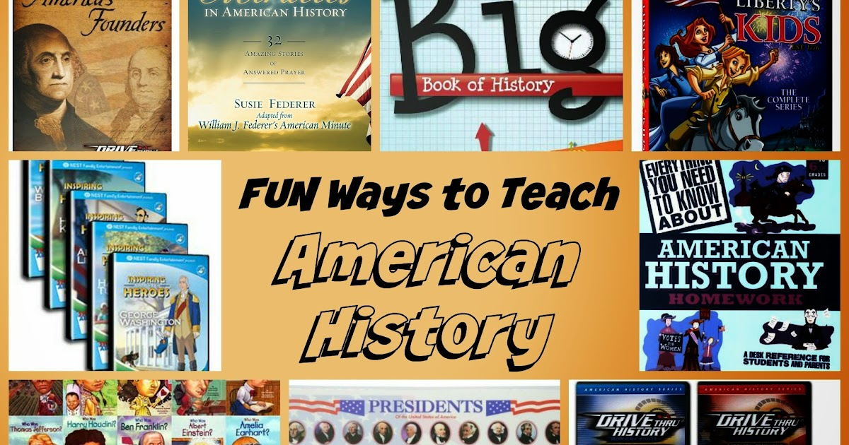 Teaching with tlc fun ways to teach american history for American history trivia facts