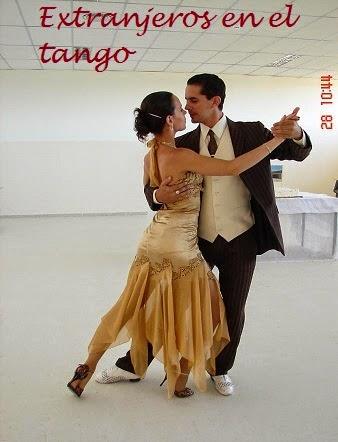 Extranjeros en el tango