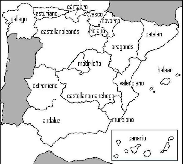 MIS COSAS DEL COLEGIO  GENTILICIOS DE LAS COMUNIDADES AUTNOMAS Y